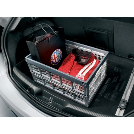 bac de rangement pour organiseur de coffre alfa romeo giulietta. Black Bedroom Furniture Sets. Home Design Ideas