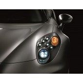 FINITION CARBONE PROJECTEURS BI-LED ALFA ROMEO 4C